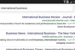 گوگل، وبسایتهای دارای نسخه موبایلی را در نتیجه جستجو نشانه گذاری می کند